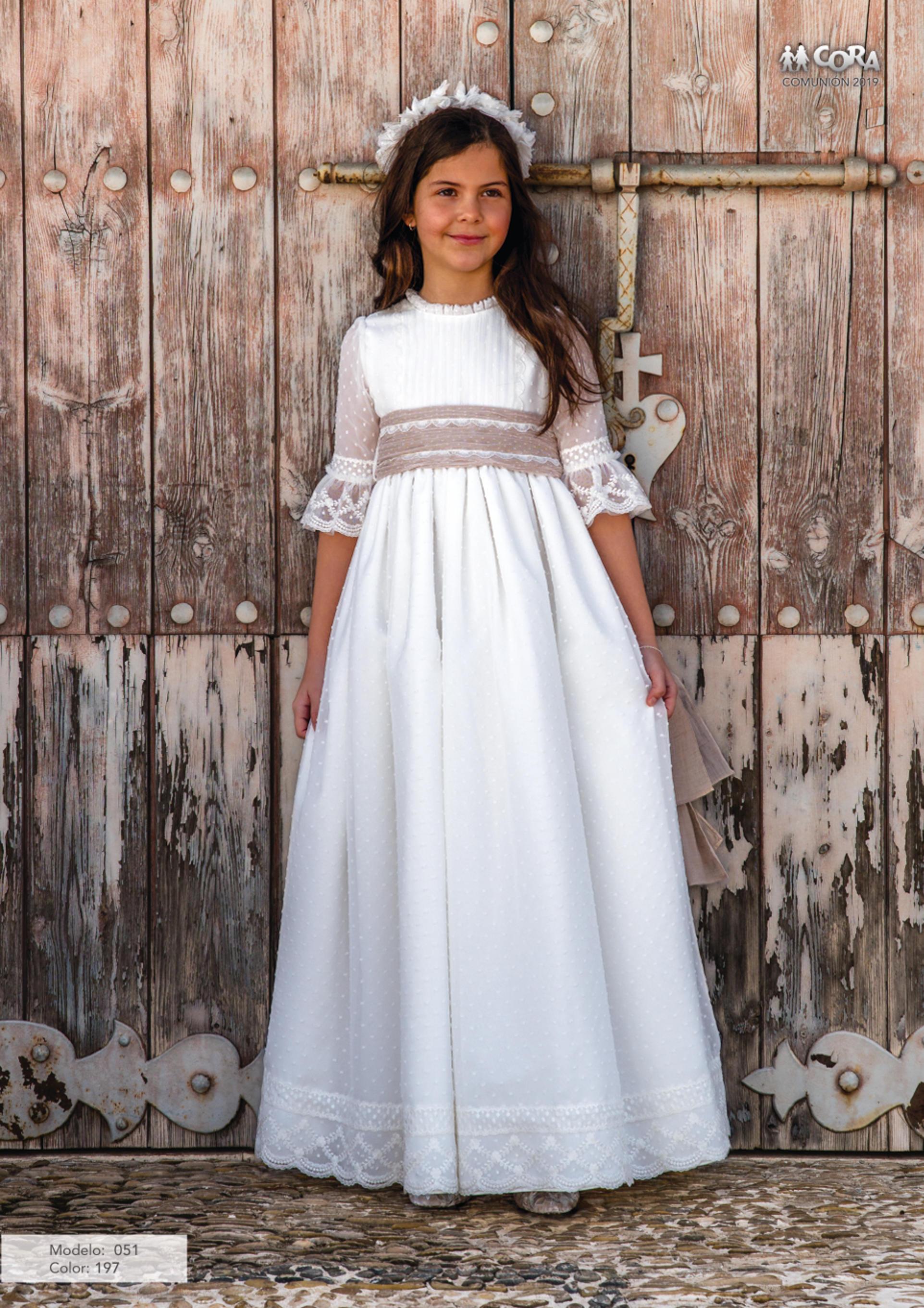 Precios vestidos comunion cora